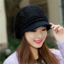 Women's Ladies Winter Warm Knitted Crochet Slouch Baggy Beanie Hat Cap 4 Colors