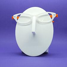 Reading Glasses Eye Fun Flexi Floating Lightweight White Orange Frame+1.50 Lens