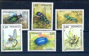 MONACO : insectes** de 1987