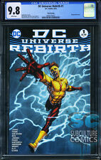 DC UNIVERSE REBIRTH #1 - THIRD PRINT - CGC 9.8 - SOLD OUT - DC COMICS RELAUNCH