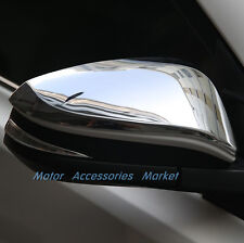 New Chrome Rearview Mirror Cover Trim For Toyota Hilux 2015 2016 2017 2018 2019