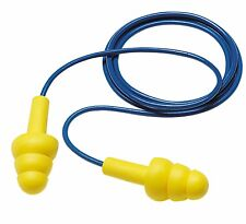 3M E-A-R™ UltraFit™ Corded Reusable Earplugs, NRR 25, Box of 100 Pair (340-4004)
