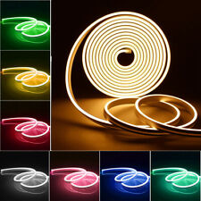 1-5M Neon LED Light El Wire 12V Flexible Waterproof Silicone Tube Party Décor