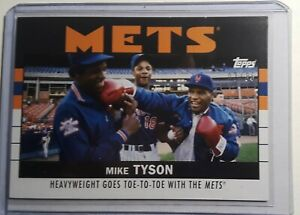 2021 Topps X ESPN 30 For 30 Once Upon A Time in Queens Mike Tyson #21 #ed 02/86