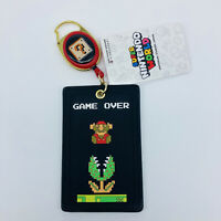 Super Mario Bros Reel Card Case Holder Nintendo World UNIVERSAL STUDIOS JAPAN