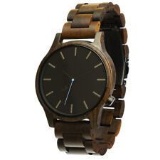 Opis UR-M1 Wooden Wrist Watch for Men (Black&Red Sandalwood, Zebrano, Maple)