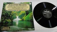 Brahms Konzert Violin Re Major Op 77 LP Vinyl VG + Spanisch Ed Philips