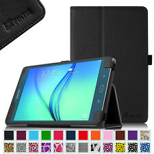Samsung Galaxy Tab A 9.7/8.0 Tablet Folio Case Cover Stand With Auto Sleep/Wake