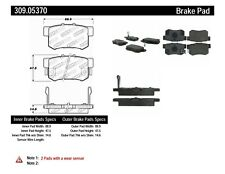 Disc Brake Pad Set-EX Rear,Front Stoptech 309.05370