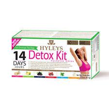 1 Pack HYLEYS 14 Day Detox Kit 42 Tea Bags (Detox/ Slim/ Sleep)