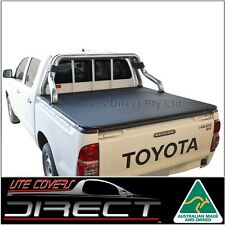 Tonneau Cover to suit Toyota Hilux Dual Cab (Apr2005-Aug2015) S/bar+O/rail liner