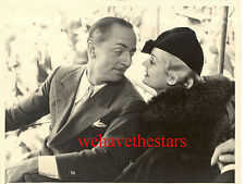 Vintage Carole Lombard William Powell ROMANCE '33 CANDID PRESS Portrait
