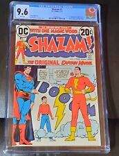 Shazam #1 CGC 9.6 NM+ (DC 1973) First  Appearance of Captain Marvel!.  Movie!