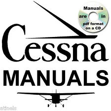CESSNA 150 Aerobat SERVICE Parts POH & Manual ENGINE MANUALS 1962-77 HUGE SET CD