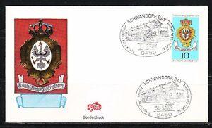 Germany 1978 event cover Railroad,Train in cancel.Schwandorf,Bay.BSG 20th anniv.