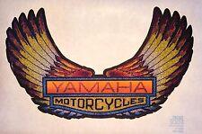 NOS 70's Yamaha Wings FMX Motorcycle Chopper Yz125 Yz80 vTg Orig t-shirt iron-on