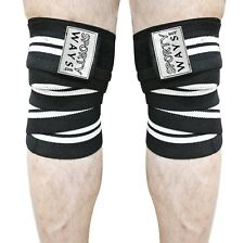 Weightlifting Workout Gym Knee Elbow Wrap Fitness Training Mma Pair
