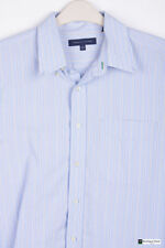 Tommy Hilfiger Men's Striped Long Sleeve Regular Collar Casual Shirts & Tops