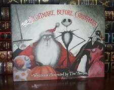 Nightmare Before Christmas by Tim Burton New 25th Anniversary Hardcover + DVD