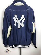 Vintage 1990's New York Yankees Zip Jacket Coat APEX ONE - Size XL 90s MLB Jeter