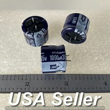 (Lot of 3) 1000uF 35V Nichicon VS Series Radial Capacitors - Fast USA Shipping