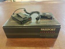 New listing Vintage PassportCincinnati Microwave Radar Detector | For Display or For Parts!