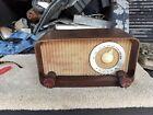 Zenith AM Radio, Brown Bakelite, Vintage {long distance radio]