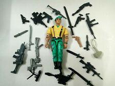"3.75"" Gi Joe  Lanard  the Corps Soldier #23 With 5pcs Accessories Rare Figure"