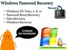 Windows Password Reset & Data Recovery Tool Bootable Boot USB Flash Thumb Drive