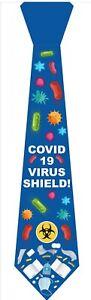Novelty Mens Virus Polyester Tie co 19