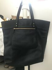 Whistles Black Leather Shoulder Bag