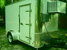 REFRIGERATED WALK IN COOLER/FREEZER TRAILERS CUSTOM 2017 SPECIAL READY