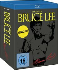 BRUCE LEE Uncut Collection TODESKRALLE Todesfaust LETZTER KAMPF BLU-RAY Box NEU