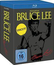 BRUCE LEE Uncut Collection TODESKRALLE Todesfaust LETZTER KAMPF BLU-RAY Box NEU