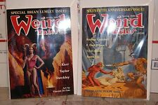Weird Tales 65th Anniversary Issue SPRING 1988 & SPECIAL ISSUE WINTER 1989/90
