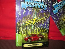 01 ACURA NSX muscle machine Import street race SST tuner funline 1/64 RED