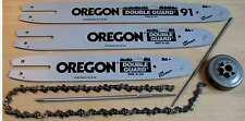 OREGON Schwert 30cm + 3 x Sägekette 3/8 - 1,1mm - 44 Tg. kleine STIHL Motorsägen