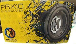 """Memphis Car Audio PRX10  10"""" Subwoofer"""