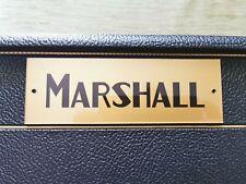"Marshall plexi logo (6"" x 2"")"