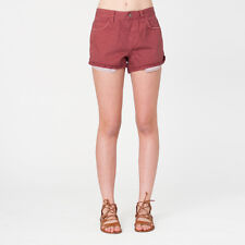 2016 NWT WOMENS ELEMENT RIVER SHORTS $50 28 tango red dyed cut off shorts