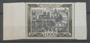 Poste aérienne N°29 Paris neuf luxe ** gomme d'origne superbe H2434