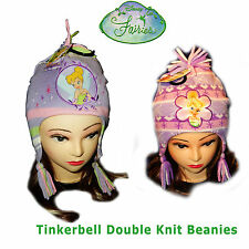 Disney Fairies Tinkerbell Beanie Knitted Girl Child Tinker Bell Winter 3-6y New