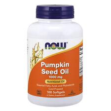 NOW FOODS Pumpkin Seed Oil 1000 mg - 100 Softgels - olio di semi di zucca
