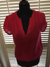 ZARA Polyester Semi Fitted Waist Length Women's Tops & Shirts