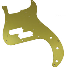 Pickguard 0992020000 Gold Anodized Bass Precision Metal 57 Fender