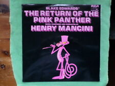 The Return Of The Pink Panther. Film Soundtrack. 33 lp Record Album. 1975.