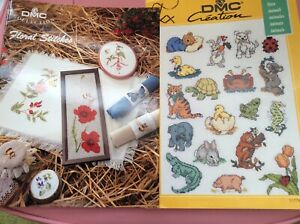 DMC counted cross stitch charts x 2