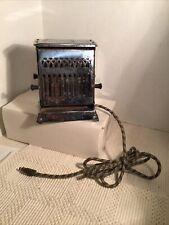 Antique  Vintage Art DECO  Toaster  GE General WORKING Simplex