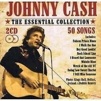 Johnny Cash The Essential Collection Box Set Audio CD Johnny Cash 50 Tracks