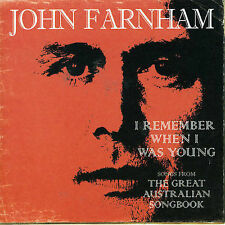 JOHN FARNHAM - I Remember When I Was Young -CD NEW AND SEALED